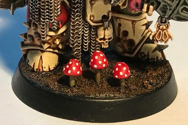 Mushroom Marine base